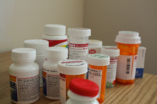 Mik's impressive medicine collection